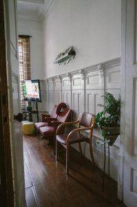 Sala de estar Lar Chuva de Prata